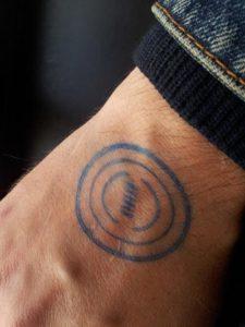 Штампы и печати на человеческом теле