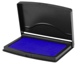 штемпельная подушка с краской