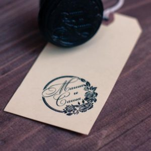 пригласительные на свадьбу с печатью