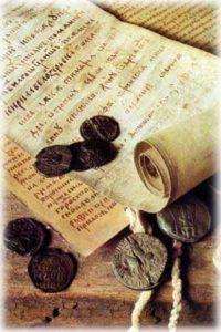 шаблоны печатей, которые существовали в древнем мире