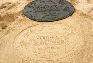 Песок вместо бумаги печать на песке