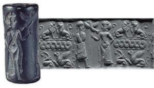 Цилиндрические печати древних шумеров