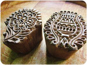 древняя печать вырезанная из дерева