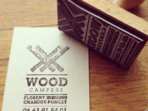 уникальная визитка с печатью