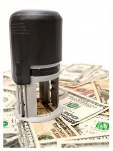 Печати и штампы банков