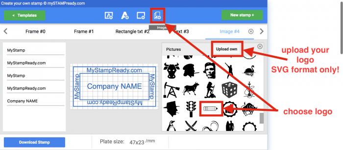 make a stamp online
