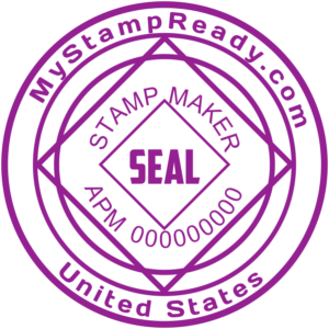 You can download online seals by stamp creator online from MyStampReady