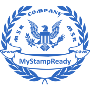 For deposit only stamp you can create easily with the toll from MyStampReady
