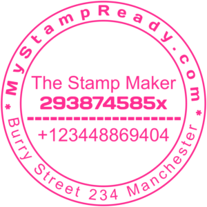 Order stamp by stamp creator online from best company MyStampReady