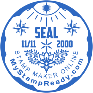 Designer of round seals works in online mode