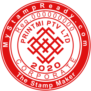 A company stamp online maker can create customized company stamps