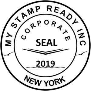 Designer of seals and stamps in the form of a program
