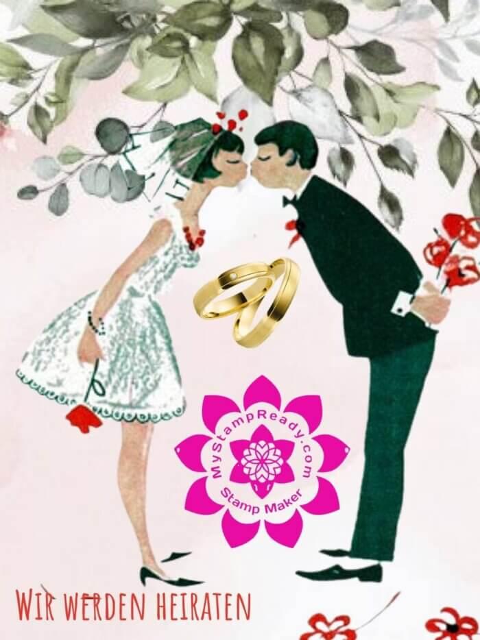 Hochzeitsstempel